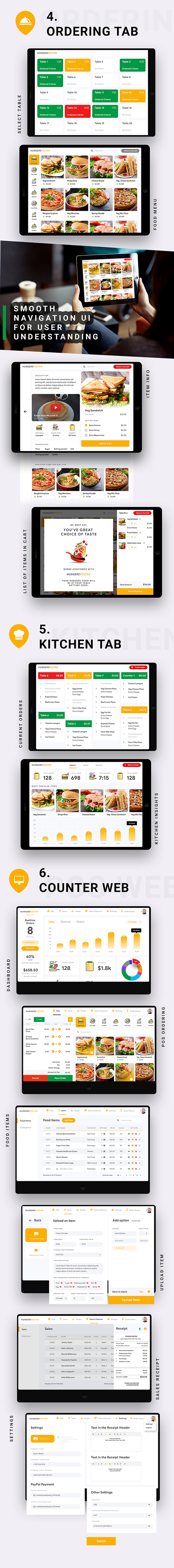 8 in 1 multi Restaurant Food Ordering App|Food Delivery App|Android+iOS App Template|Flutter Hungerz - 13