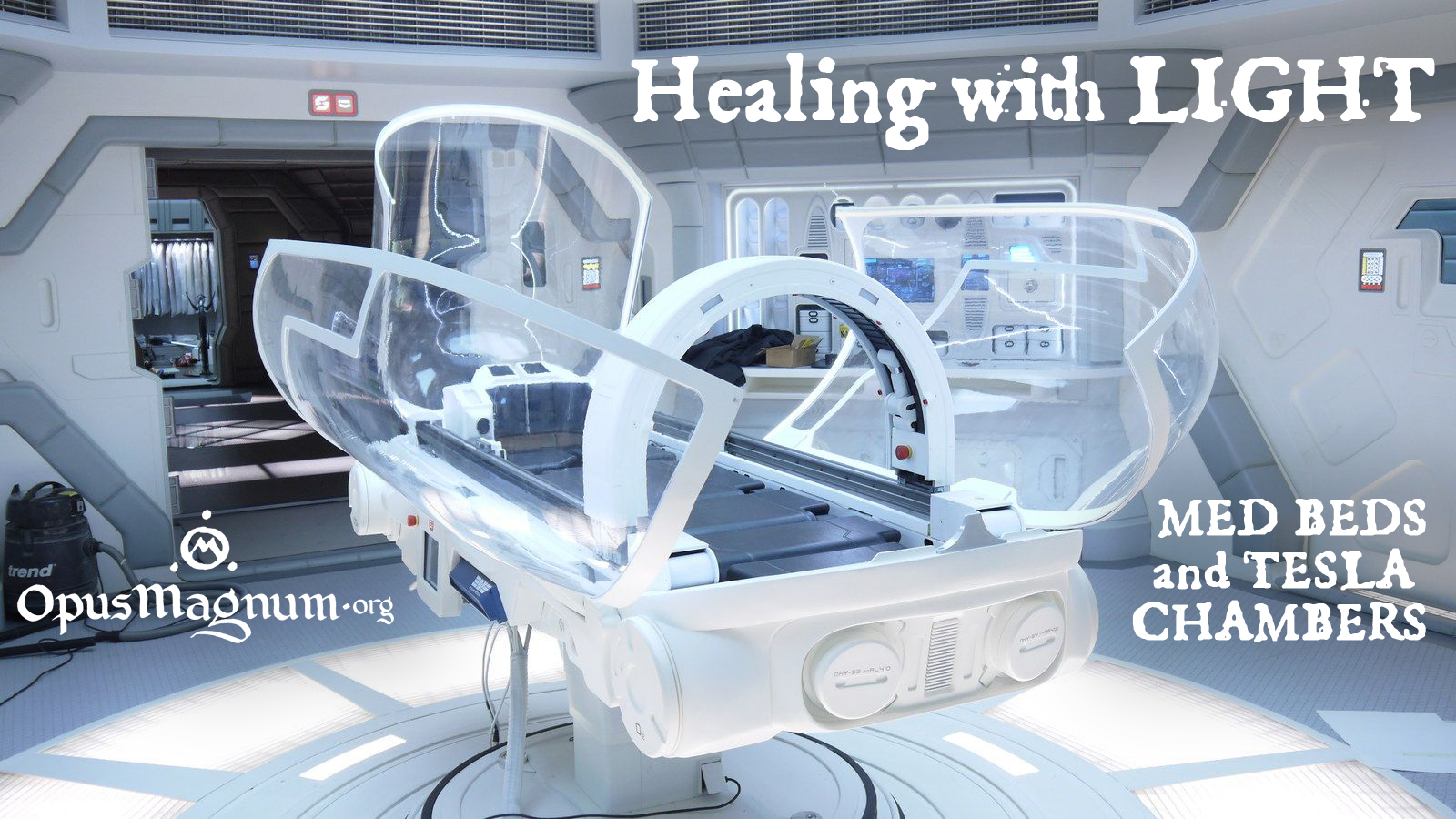 MED BEDS AND TESLA CHAMBERS | Opus Magnum
