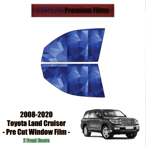 2008 – 2020 Toyota Land Cruiser – 2 Front Windows Precut Window Tint Kit Automotive Window Film