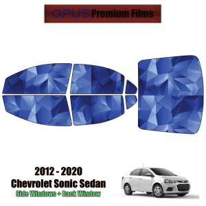2012 – 2020 Chevrolet Sonic – Full Sedan Precut Window Tint Kit Automotive Window Film