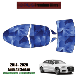 2014 – 2020 Audi A3 – Full Sedan Precut Window Tint Kit Automotive Window Film