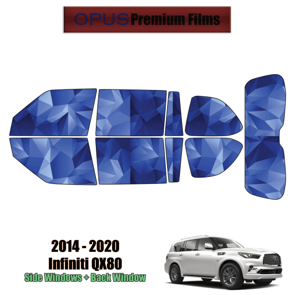 2014 – 2020 Infiniti QX80 – Full SUV Precut Window Tint Kit Automotive Window Film