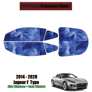 2014 – 2020 Jaguar F – Type – Full Coupe Precut Window Tint Kit Automotive Window Film