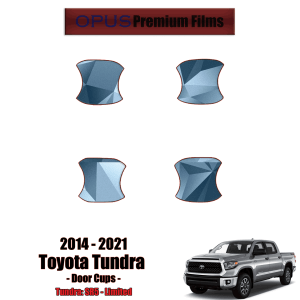 2014 – 2021 Toyota Tundra – Precut Paint Protection Kit (PPF) Door Cups