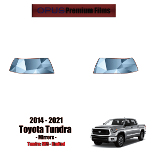 2014 – 2021 Toyota Tundra – Precut Paint Protection Kit (PPF) Mirrors