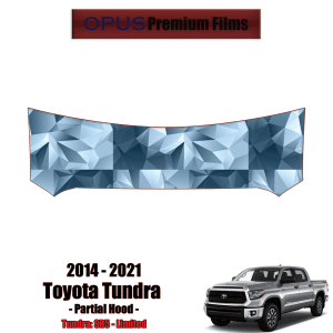 2014 – 2021 Toyota Tundra – Precut Paint Protection Kit (PPF) Partial Hood