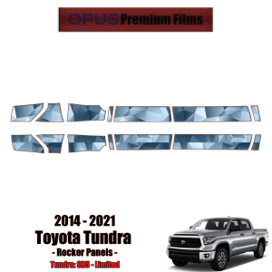 2014 – 2021 Toyota Tundra – Precut Paint Protection Kit (PPF) Rocker Panels