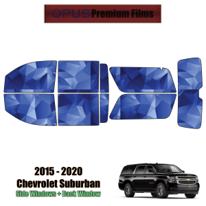 2015 – 2020 Chevrolet Suburban – Full SUV Precut Window Tint Kit Automotive Window Film