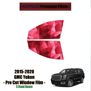 2015 – 2020 GMC Yukon – 2 Front Windows Precut Window Tint Kit Automotive Window Film