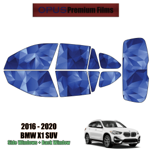 2016 – 2021 BMW X1 – Full SUV Precut Window Tint Kit Automotive Window Film
