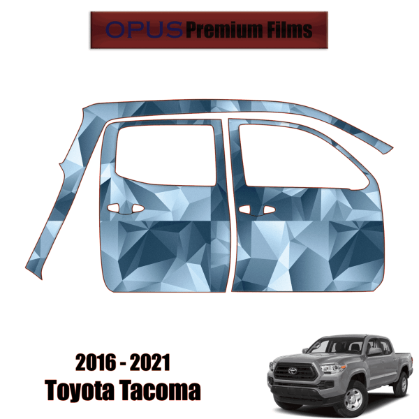 2016 – 2021 Toyota Tacoma – Paint Protection Kit PPF ( Full Doors Right Side )