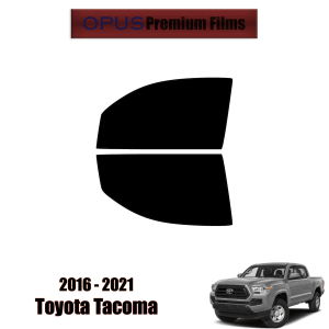 2016 – 2021 Toyota Tacoma – 2 Front Windows Precut Window Tint Kit Automotive Window Film