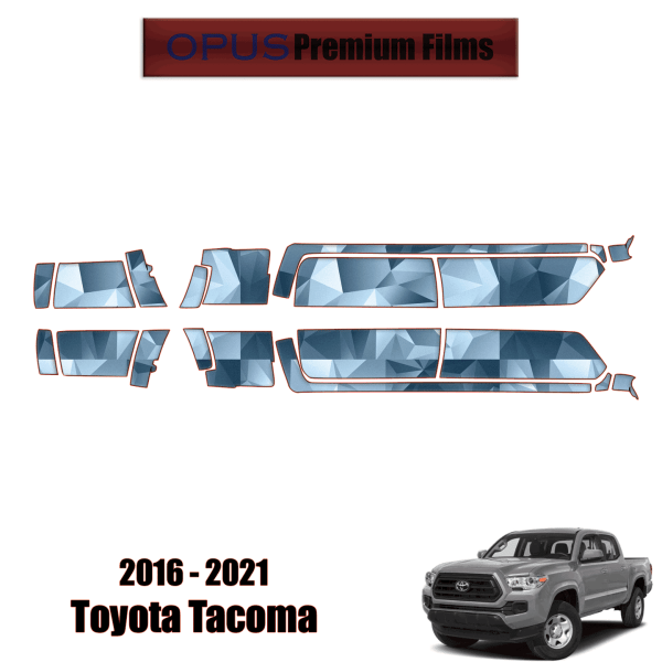 2016 – 2021 Toyota Tacoma – Paint Protection Kit PPF ( Rocker Panels 6′ Bed )