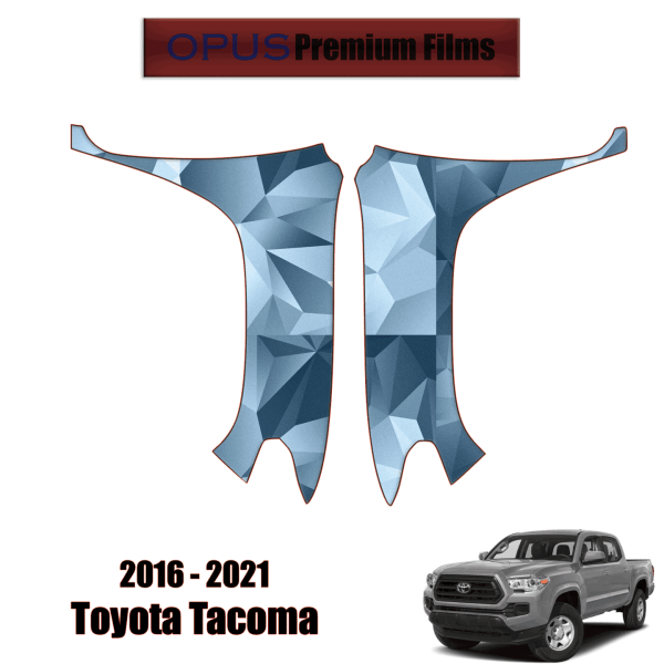 2016 – 2021 Toyota Tacoma – Paint Protection Kit PPF ( Full Fenders )