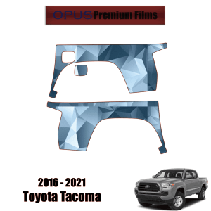 2016 – 2021 Toyota Tacoma – Paint Protection Kit PPF ( Outer Bed Panels )