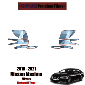2016 – 2021 Nissan Maxima – Precut Paint Protection Kit (PPF) – Mirrors