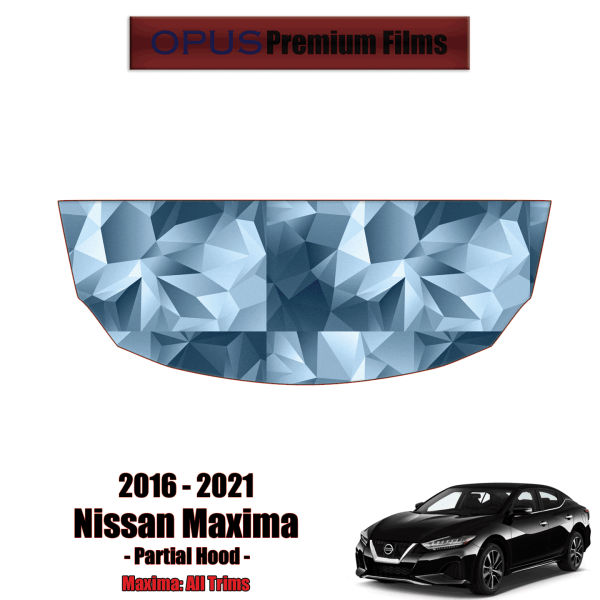 2016 – 2021 Nissan Maxima – Precut Paint Protection Kit (PPF) – Partial Hood
