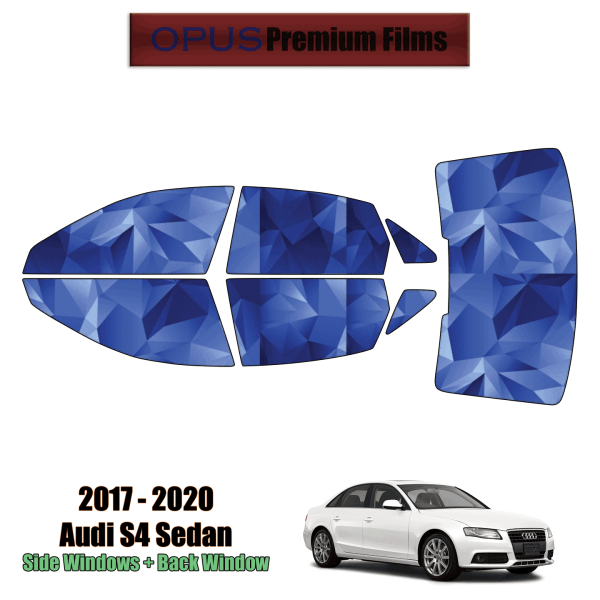 2017 – 2021 Audi S4 – Full Sedan Precut Window Tint Kit Automotive Window Film