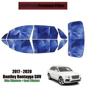 2017 – 2020 Bentley Bentayga – Full SUV Precut Window Tint Kit Automotive Window Film