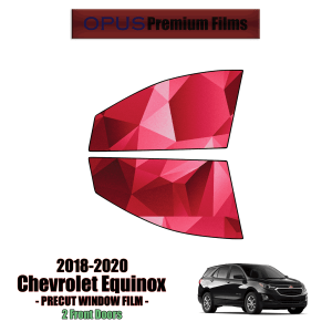 2018 – 2020 Chevrolet Equinox – 2 Front Windows Precut Window Tint Kit Automotive Window Film