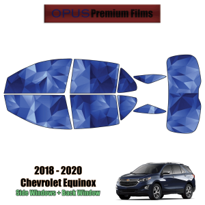 2018 – 2020 Chevrolet Equinox – Full SUV Precut Window Tint Kit Automotive Window Film