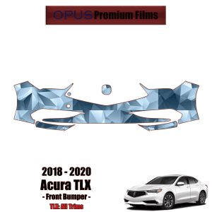 2018 – 2020 Acura TLX – Precut Paint Protection Kit (PPF) – Front Bumper