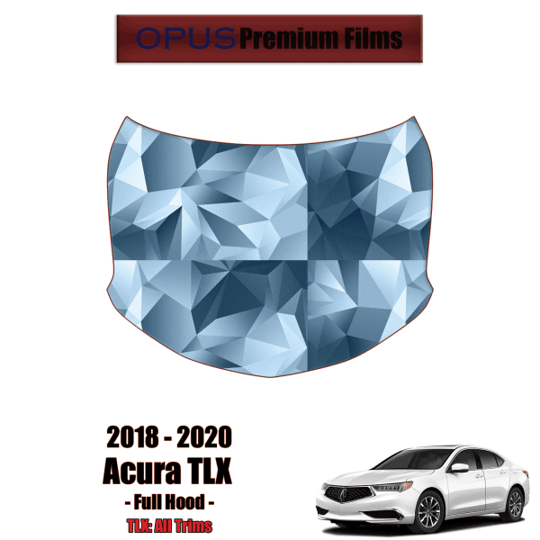 2018 – 2020 Acura TLX – Precut Paint Protection Kit (PPF) – Full Hood