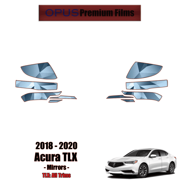 2018 – 2020 Acura TLX – Precut Paint Protection Kit (PPF) – Mirrors
