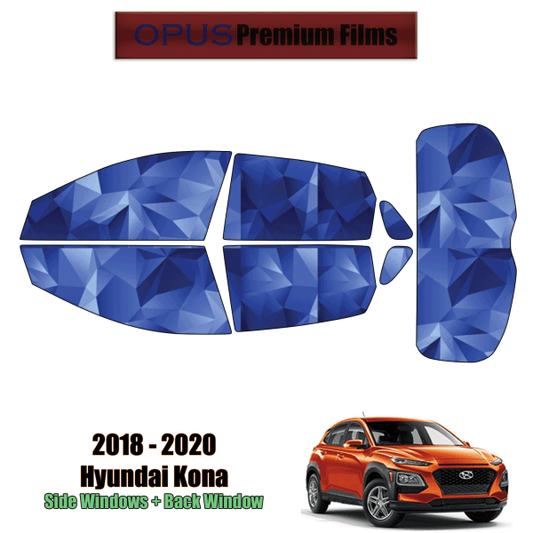 2018 – 2020 Hyundai Kona – Full SUV Precut Window Tint Kit Automotive Window Film
