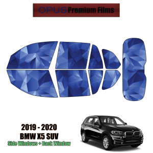 2019 – 2021 BMW X5 – Full SUV Precut Window Tint Kit Automotive Window Film
