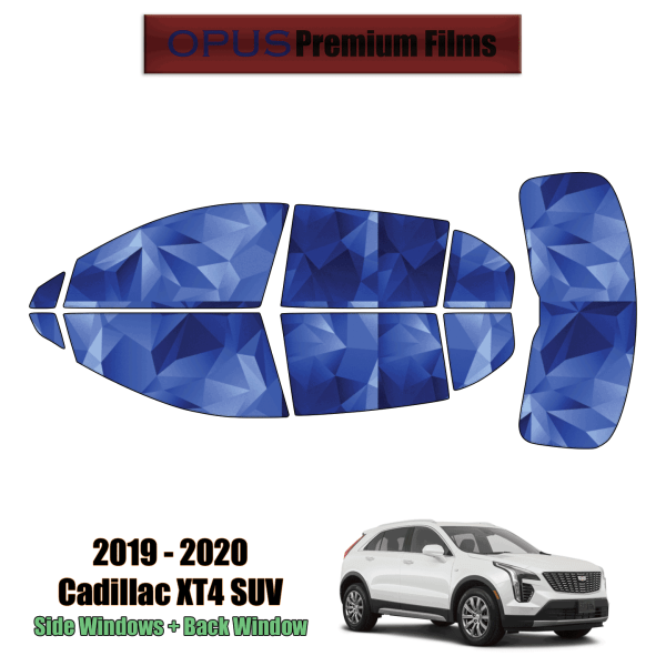 2019 – 2020 Cadillac XT4 – Full SUV Precut Window Tint Kit Automotive Window Film