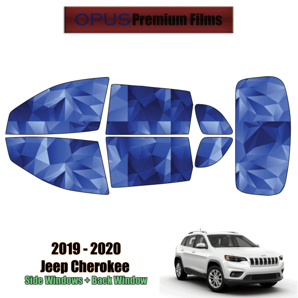 2019 – 2020 Jeep Cherokee – Full SUV Precut Window Tint Kit Automotive Window Film