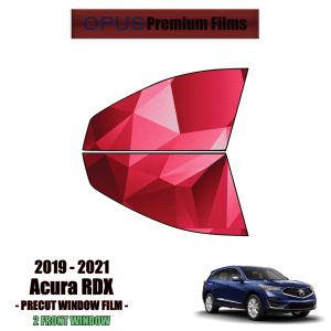 2019 – 2021 Acura RDX – 2 Front Windows Precut Window Tint Kit Automotive Window Film