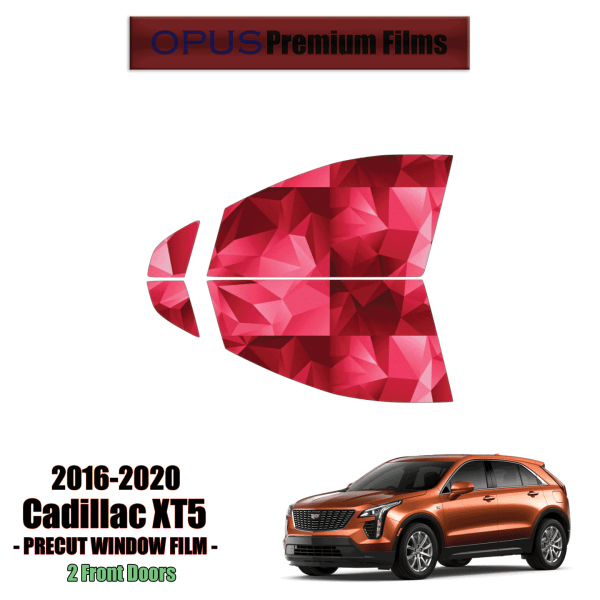 2019 – 2021 Cadillac XT4 – 2 Front Windows Precut Window Tint Kit Automotive Window Film