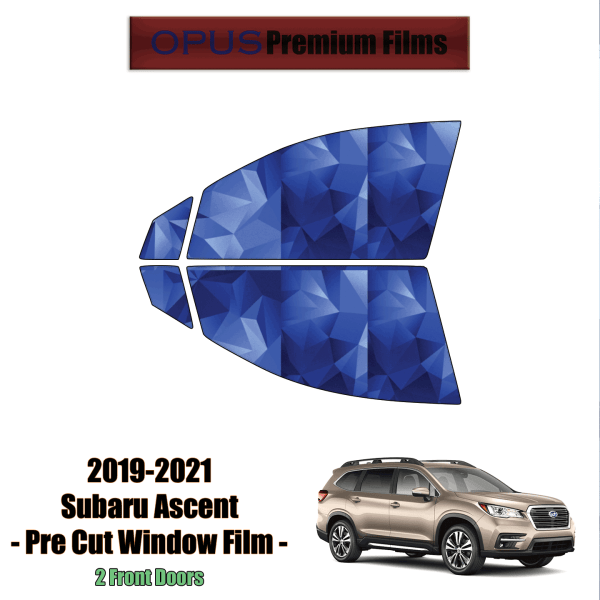 2019 – 2021 Subaru Ascent – 2 Front Windows Precut Window Tint Kit Automotive Window Film