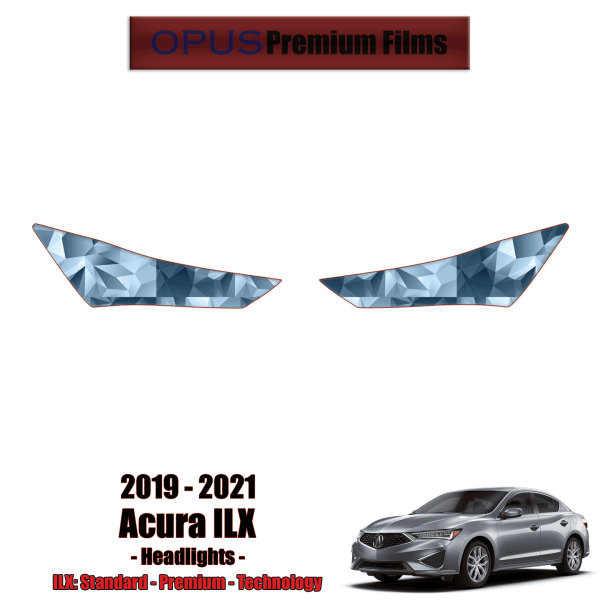 2019 – 2021 Acura ILX – Precut Paint Protection Kit (PPF) Headlights