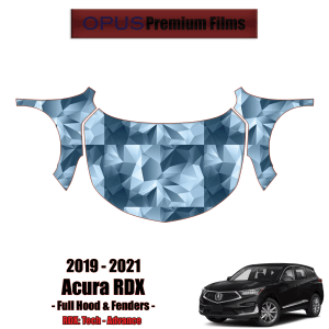 2019 – 2021 Acura RDX – Precut Paint Protection Kit (PPF) – Full Hood + Fenders
