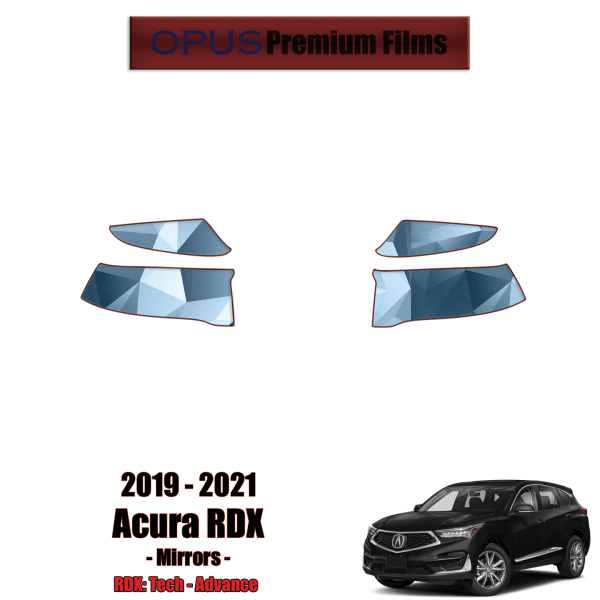 2019 – 2021 Acura RDX – Precut Paint Protection Kit (PPF) – Mirrors