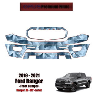 2019 – 2021 Ford Ranger Paint Protection Kit (PPF) – Front Bumper