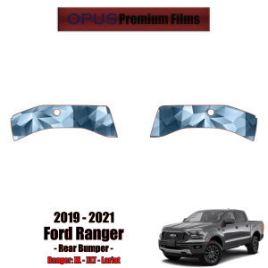 2019 – 2021 Ford Ranger Paint Protection Kit (PPF) – Rear Bumper