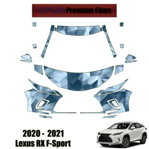 2020 – 2021 Lexus RX F-Sport – Precut Paint Protection Kit (PPF) Partial Front