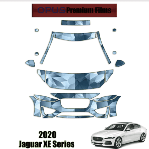 2020 Jaguar XE Series – Precut Paint Protection Kit (PPF) Partial Front