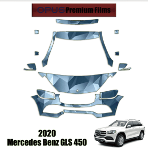 2020 Mercedes-Benz GLS 450 – Precut Paint Protection Kit (PPF) Partial Front