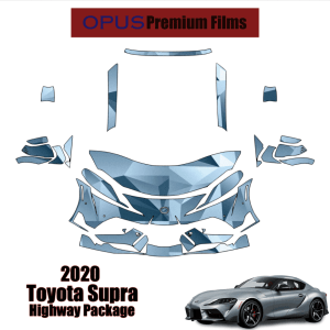 2020 Toyota Supra GR – Precut Paint Protection Kit (PPF) Partial Front