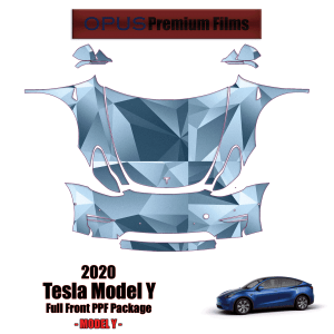 2020 – 2021 Tesla Model Y Paint Protection Kit (Full Front)