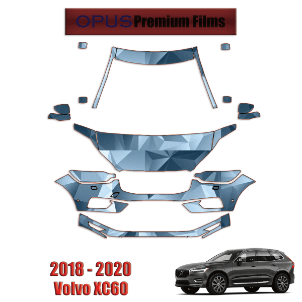 2018 – 2020 Volvo XC60 – Paint Protection Kit