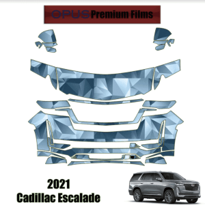2021 Cadillac Escalade – Precut Paint Protection Kit (PPF) Partial Front