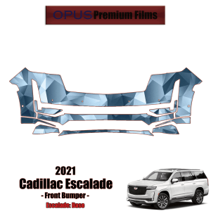 2021 Cadillac Escalade – Precut Paint Protection Kit (PPF) Front Bumper
