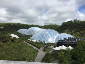 Eden Project Rainforest and Mediterranean Biodomes