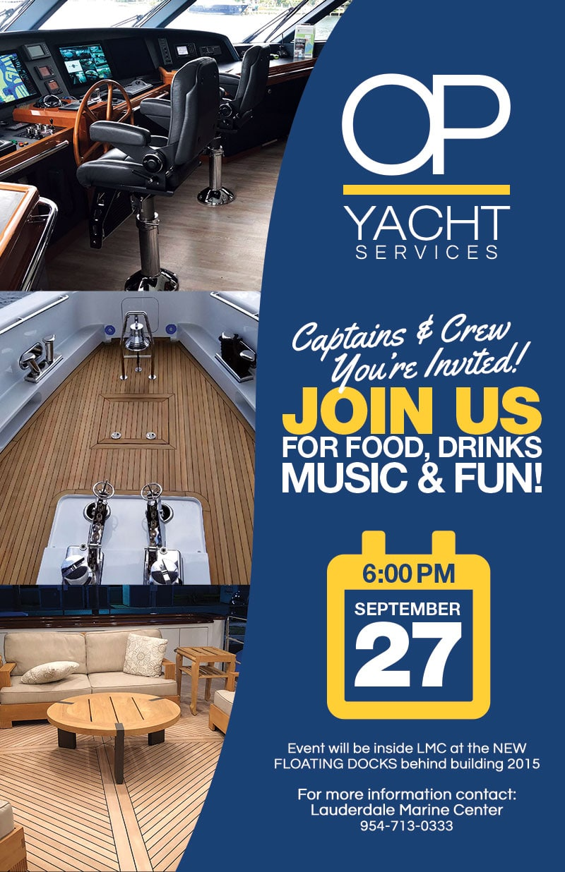 OP Yachts Party - Sept 2018